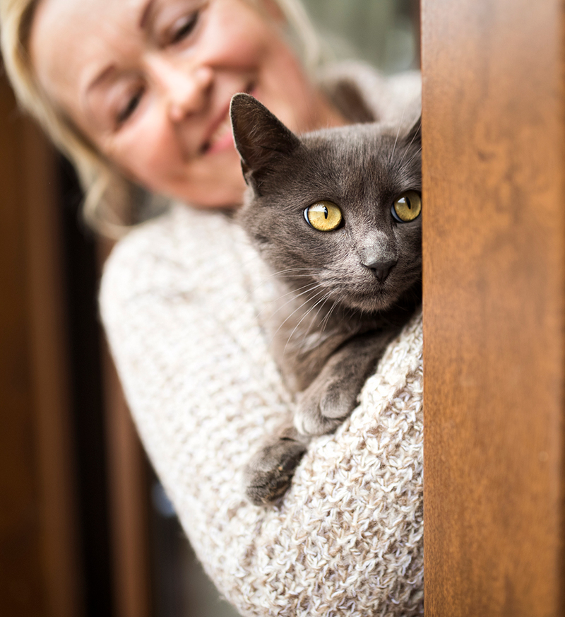 woman-holding-cat